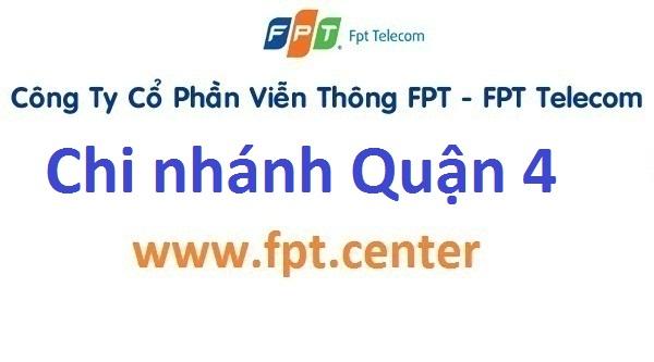 Địa điểm giao dịch chi nhánh văn phòng FPT quận 4 TPHCM