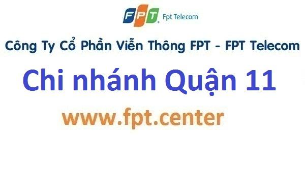 Điểm giao dịch văn phòng chi nhánh FPT quận 11 TPHCM