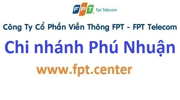 Phòng giao dịch cửa hàng FPT chi nhánh quận Phú Nhuận TPHCM
