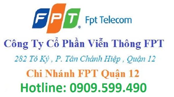 Địa điểm phòng giao dịch FPT quận 12 khai trương tại 282 Tô Ký TPHCM