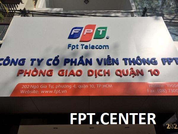 Phòng giao dịch FPT quận 10 chi nhánh 202 Ngô Gia Tự