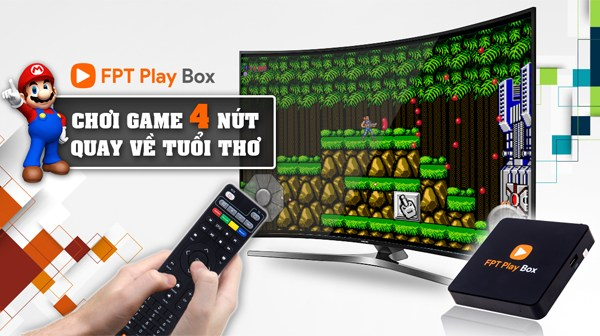 Chơi Game 4 Nút Huyền Thoại Trên FPT Play Box