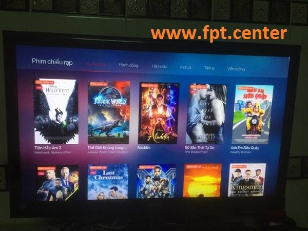 Cách xem phim bom tấn chiếu rạp miễn phí trên Fpt play box