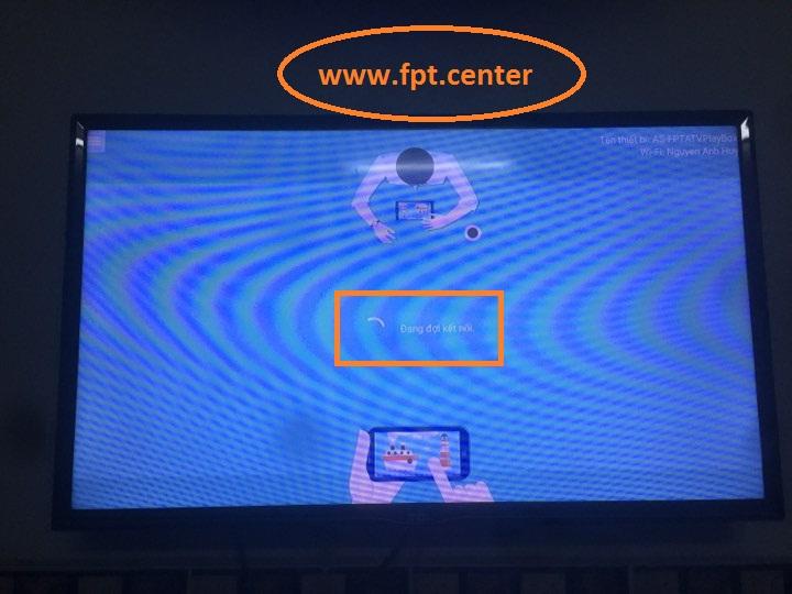 Cách Chiếu Màn Hình Điện Thoại Lên TIVI bằng Fpt Play Box