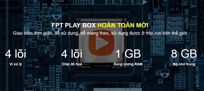 FPT Play Box TV - Mua 1 lần - Miễn phí truyền hình mãi mãi