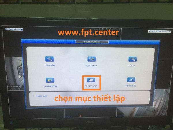 Cách thiết lập thông số IP cho đầu ghi camera Kbvision trực tuyến