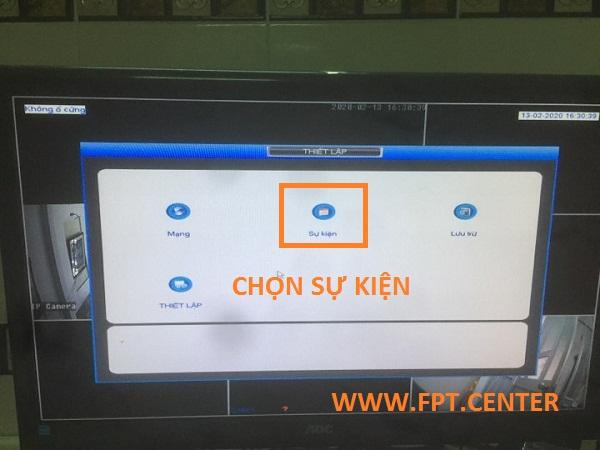 Cách bật tắt báo động chuyển động trên đầu ghi Kbvision