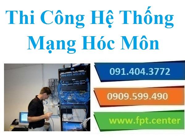 Thi Công Mạng LAN Huyện Hóc Môn - Mạng Nội Bộ Văn Phòng Công Ty