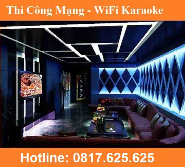 Thi Công Điện Mạng LAN cho Quán Karaoke