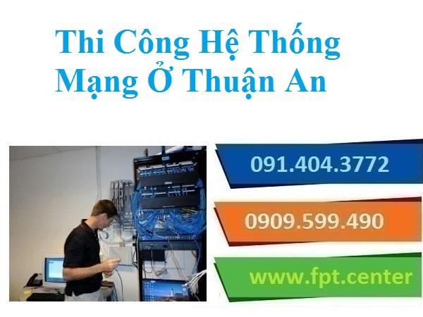 Thi Công Lắp Đặt Mạng LAN Mạng Nội Bộ Ở Thuận An Cho Nhà Phố Văn Phòng