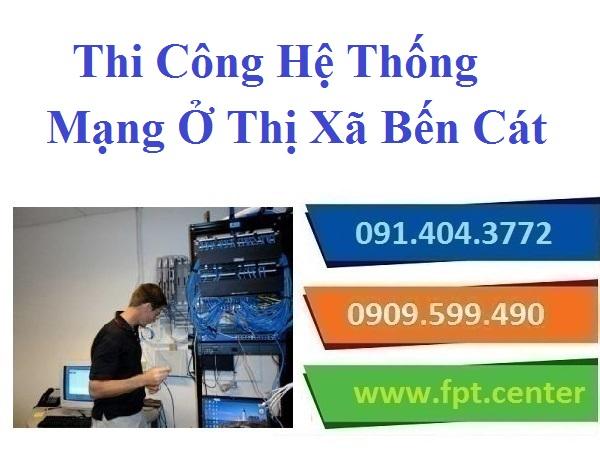 Thi Công Lắp Đặt Mạng LAN Mạng Nội Bộ Ở Bến Cát Cho Nhà Phố Văn Phòng