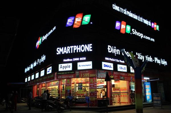 FPT Shop đã mở hơn 500 cửa hàng bán lẻ trên toàn quốc tại hơn 63 tỉnh thành