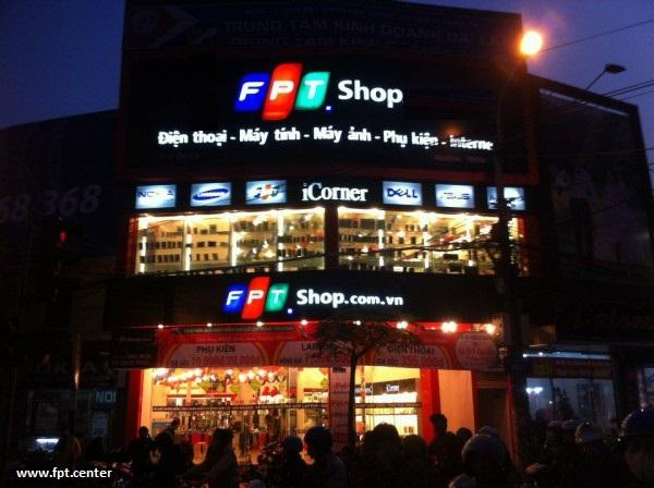 FPT Shop chuyên bán lẻ các sản phẩm như máy tính bảng, smartphone, linh kiện điện thoại máy tính