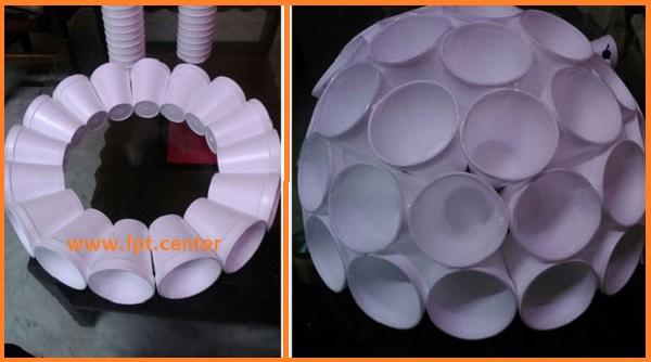 Cách chế tạo đèn bàn trang trí trong gia đình đẹp mà rẻ