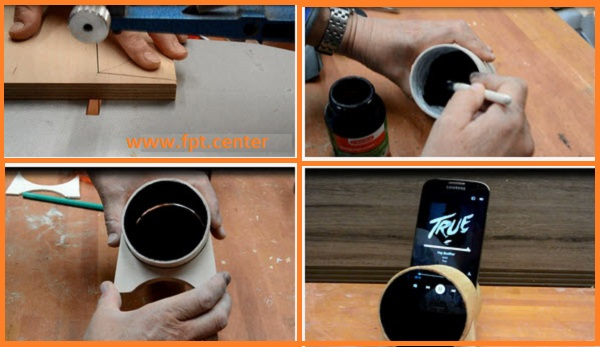 Cách chế tạo Loa tăng âm thanh cho smartphone