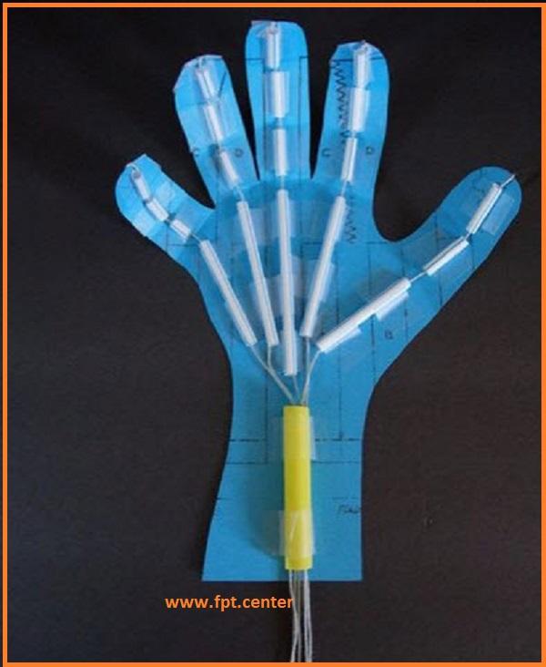 Chế tạo mô hình bàn tay Robot đơn giản bằng giấy