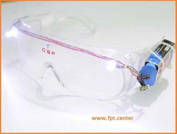 Cách chế tạo kính bảo vệ mắt với đèn LED siêu sáng
