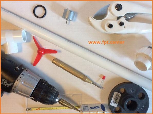 Cách chế tạo mô hình tuabin gió tạo ra điện năng thường gặp