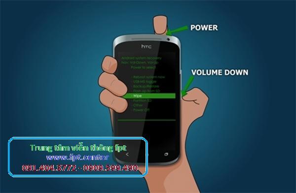 Hướng Dẫn Reset điện thoại Android về dạng mặc định