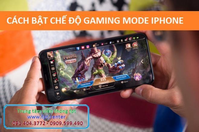 Cách bật chế độ Gaming Mode trên Iphone để tránh bị làm phiền thông báo