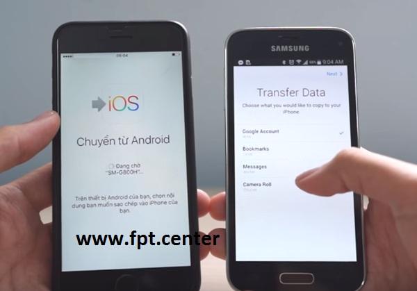 Cách Chuyển Dữ Liệu Từ Android sang Iphone và Ngược Lại