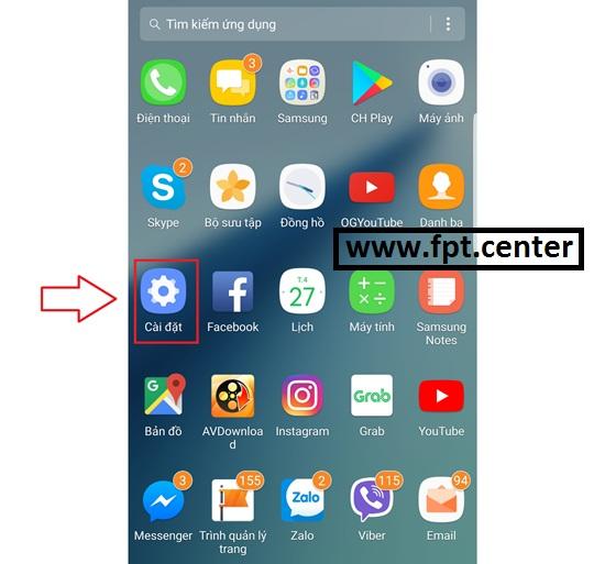 Cách chặn thông báo Push Notification trên điện thoại Samsung