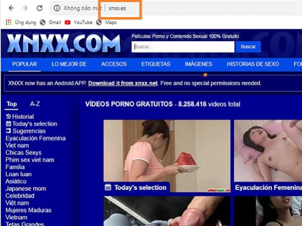 Cách Vào Truy Cập Web Sex XVideo Porn99 XnXX Pornhub bị chặn