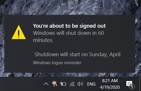 Hướng dẫn tự động hẹn giờ tắt máy tính khi cần thiết