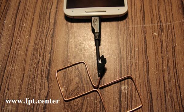 Hướng dẫn cách chế ăng ten tăng sóng WiFi cho di động lên 30%