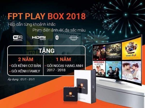 Đón xuân 2018 - FPT telecom nâng băng thông - Cước không đổi