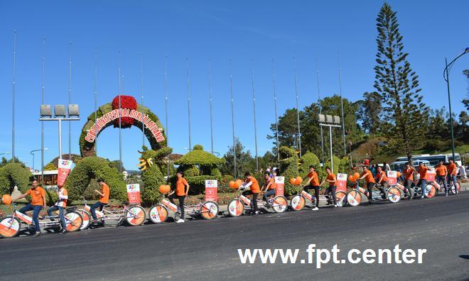 Truyền hình FPT Đà Lạt tỏa sáng tại Festival hoa Đà Lạt