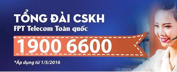 Số điện thoại Chăm Sóc khách hàng FPT