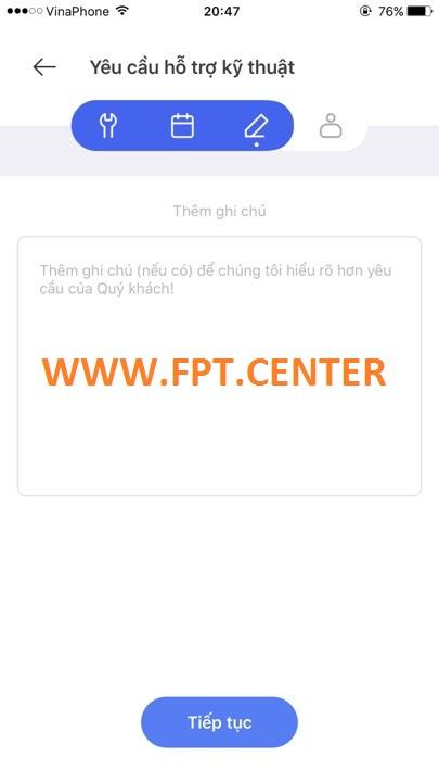 Báo Hỏng Nhanh Internet Và Truyền Hình Qua Hi Fpt