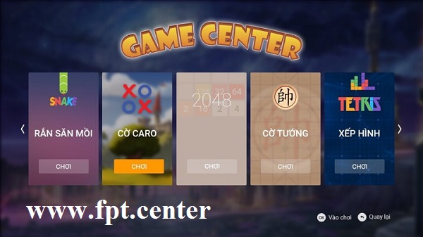 Chơi Game Huyền Thoại Trên Truyền Hình FPT