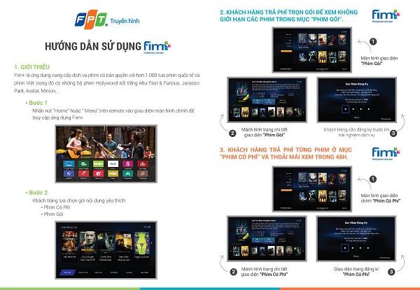 Xem Phim Danet và Fim+ Trên Truyền Hình FPT