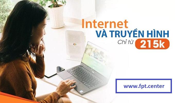 Lắp Đặt Combo Internet Truyền Hình Fpt - [ Giá Update mới nhất ]