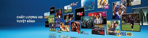Lắp đặt K+ Truyền hình K+ Đầu thu K+ Thẻ cào K+ giá chỉ 125.000đ
