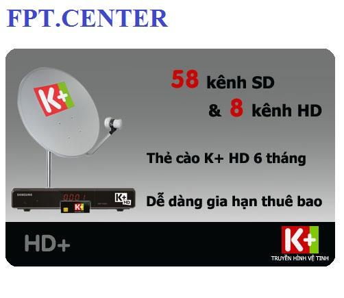Đăng ký K+ SD, lắp đặt truyền hinh K+ SD