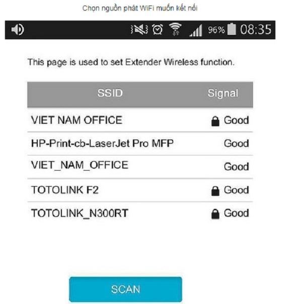 Thiết bị Kích sóng WiFi Repeater TOTOLINK EX100