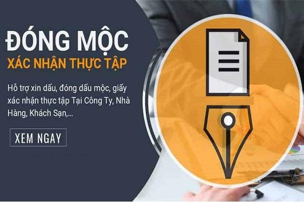 Dịch Vụ Đóng Dấu Xác Nhận Thực Tập Tốt Nghiệp Tại TPHCM